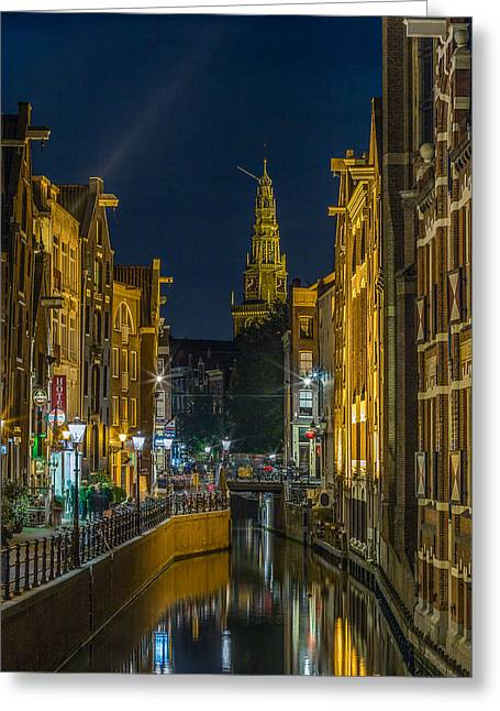 Canal Life Greeting Card by Capt Gerry Hare