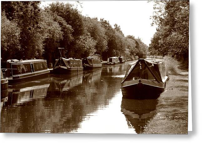 Roberto Alamino Greeting Cards - Canal Greeting Card by Roberto Alamino