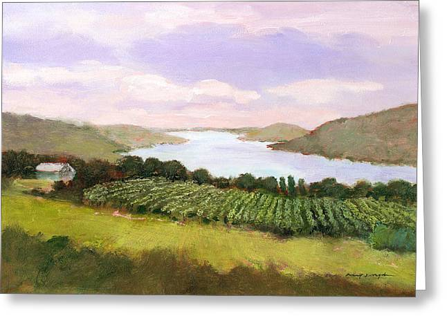 Canandaigua Lake Greeting Cards - Canandaigua Lake Greeting Card by J Reifsnyder