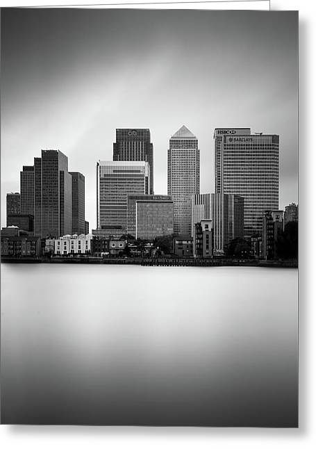 Canary Wharf II, London Greeting Card by Ivo Kerssemakers
