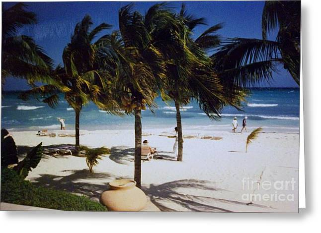 Cancun Greeting Cards - Cancun Vacation Greeting Card by Marsha Heiken