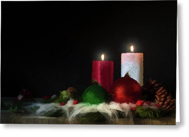 Candlelight  Greeting Card by David Dehner