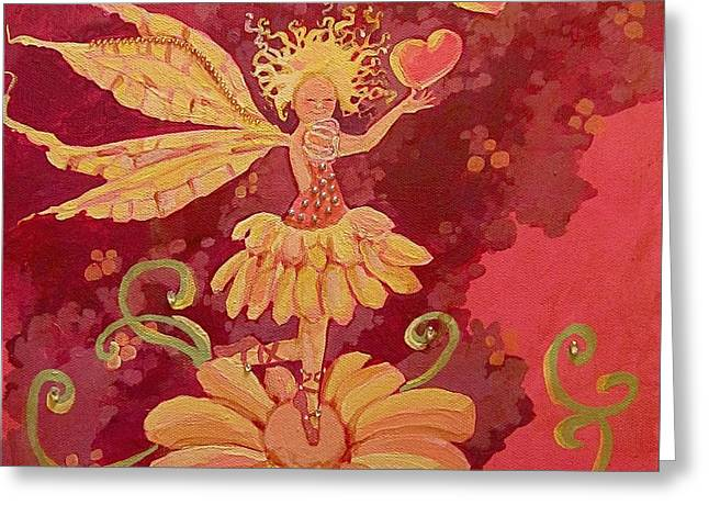 candy 1 Greeting Card by Jackie Rock
