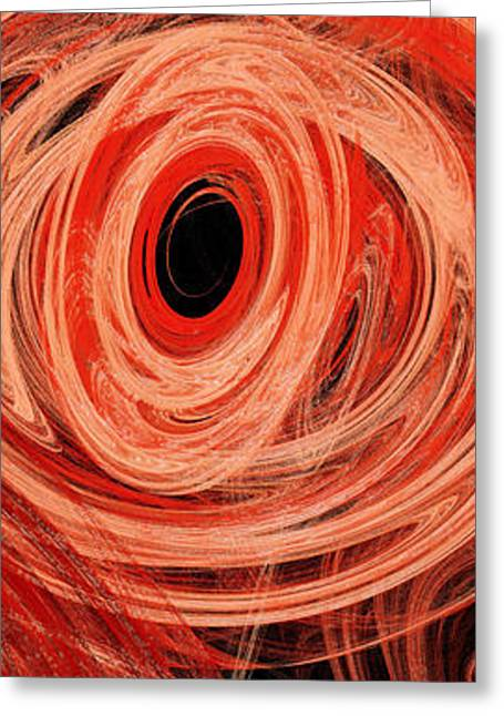 Fish Digital Art Greeting Cards - Candy Chaos 2 Abstract Greeting Card by Andee Design