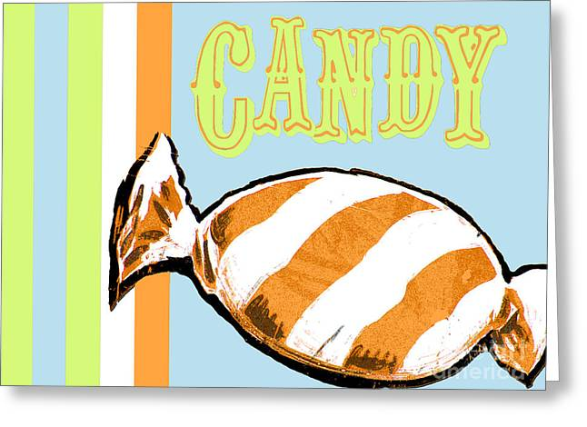 Baby Room Greeting Cards - Candy Wall Art Print for Kids Decor Greeting Card by ArtyZen Studios - ArtyZen Home