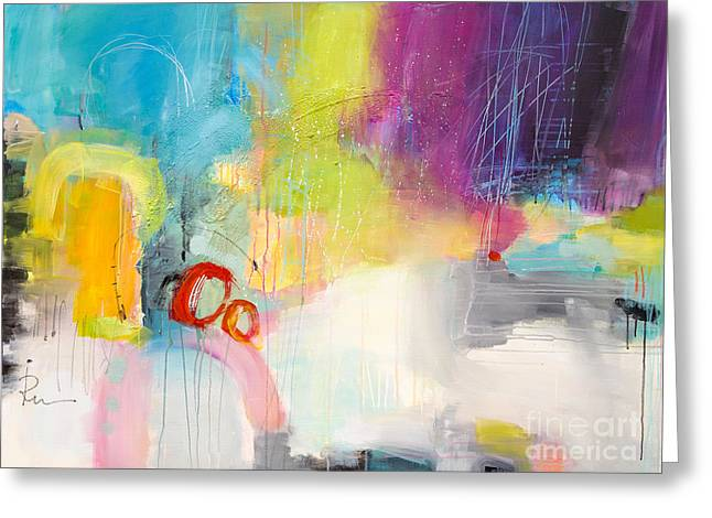 Expresion Greeting Cards - Candy World 4 Greeting Card by Ira Ivanova