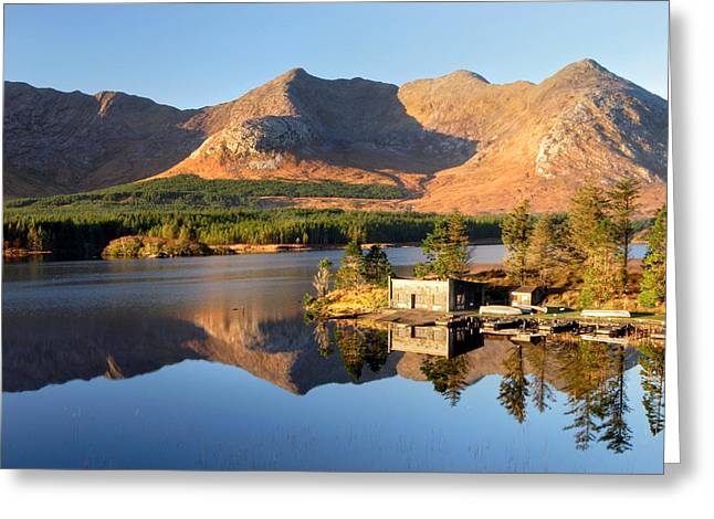 Canoe Photographs Greeting Cards - Canoe Club in Connemara Ireland Greeting Card by Pierre Leclerc Photography