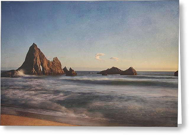 California Beach Greeting Cards - Cant Take My Mind Off of You Greeting Card by Laurie Search