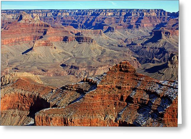 Canyon Beauty Greeting Card by Kami McKeon