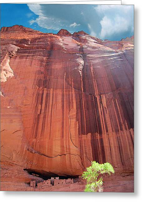 Luminist Greeting Cards - Canyon De Chelley Greeting Card by Ric Soulen