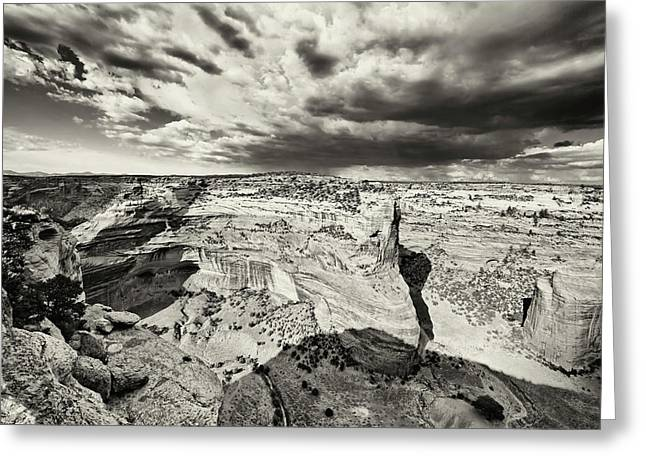 Del Muerto Greeting Cards - Canyon de Chelly  Greeting Card by George Oze