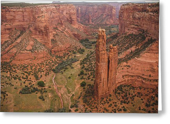 Stream Digital Greeting Cards - Canyon de Chelly Greeting Card by Pete Mecozzi