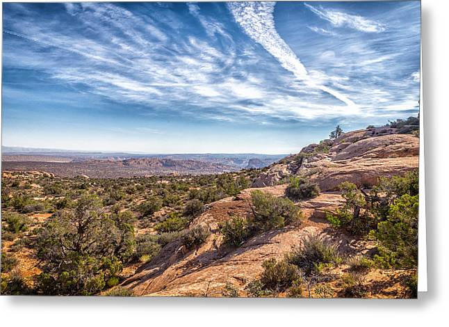 Mccoy Greeting Cards - Arches National Park 9 Greeting Card by A Different Brian Photography