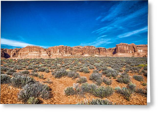 Mccoy Greeting Cards - Arches National Park 4 Greeting Card by A Different Brian Photography