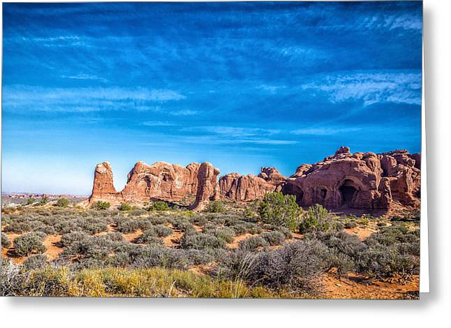 Mccoy Greeting Cards - Arches National Park 7 Greeting Card by A Different Brian Photography