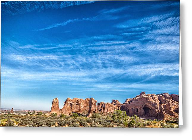 Mccoy Greeting Cards - Arches National Park 8 Greeting Card by A Different Brian Photography