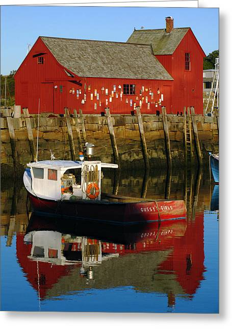 Fishing Shack Greeting Cards - Cape Ann Photography Greeting Card by Juergen Roth