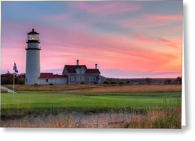 New England Ocean Greeting Cards - Cape Cod Highland Links Greeting Card by Bill Wakeley