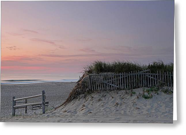 Cape Cod Mass Greeting Cards - Cape Cod Nauset Beach Sunrise  Greeting Card by Juergen Roth