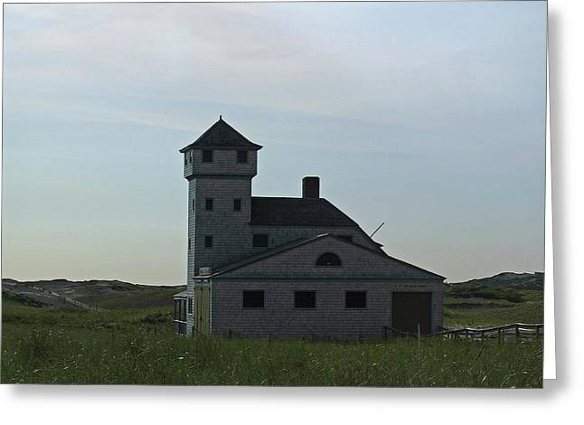 New England Lighthouse Greeting Cards - Cape Cod Old Harbor Life Saving Station Greeting Card by Juergen Roth