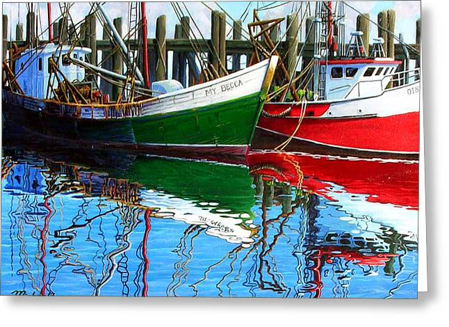 0sa Peninsula Greeting Cards - Cape Cod Paintings  Greeting Card by Michael Cranford