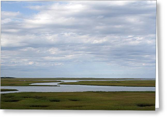 Fort River Greeting Cards - Cape Cod Salt Marsh Greeting Card by Juergen Roth
