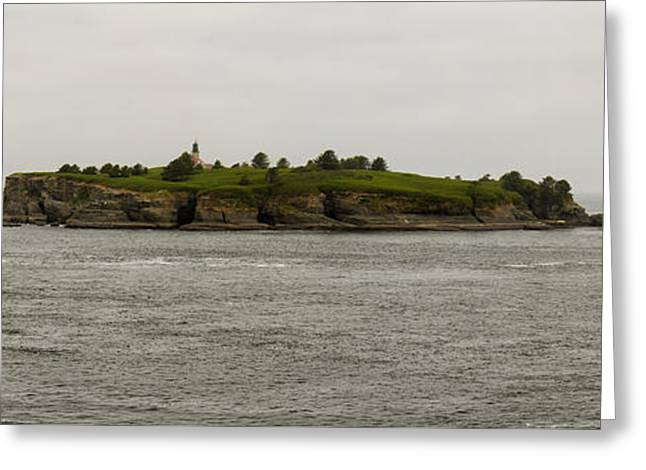 Cape Flattery Greeting Cards - Cape Flattery Lighthouse Greeting Card by Debby Richards