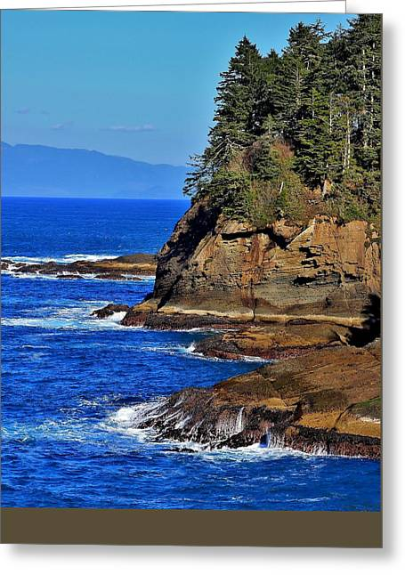 Cape Flattery Greeting Cards - Cape Flattery Greeting Card by Stacie Gary