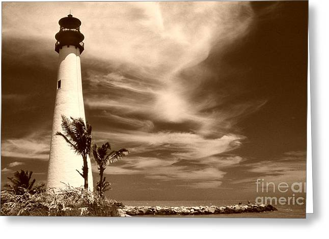 Cape Florida Greeting Card by Skip Willits