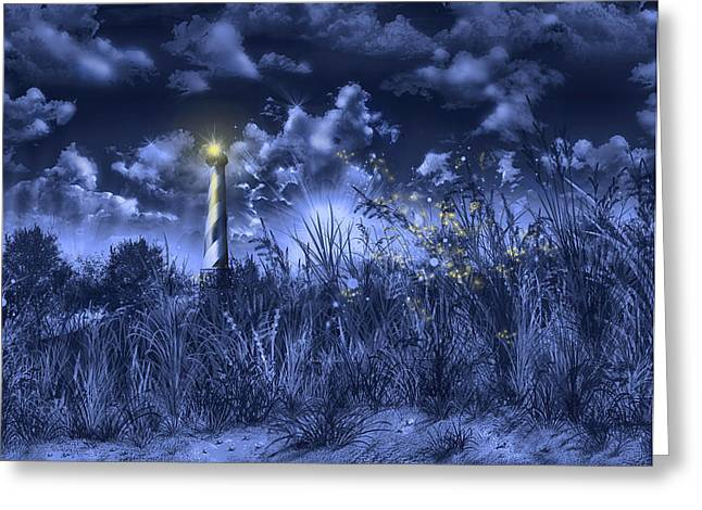 Cape Hatteras Lighthouse 2 Greeting Card by Bekim Art