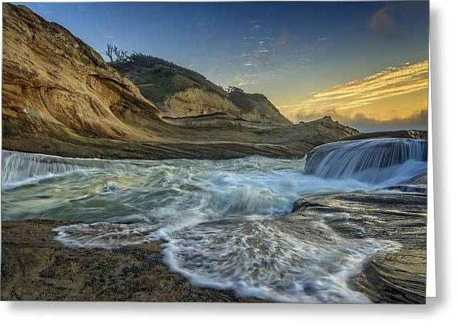 Oregon State Parks Greeting Cards - Cape Kiwanda Greeting Card by Rick Berk