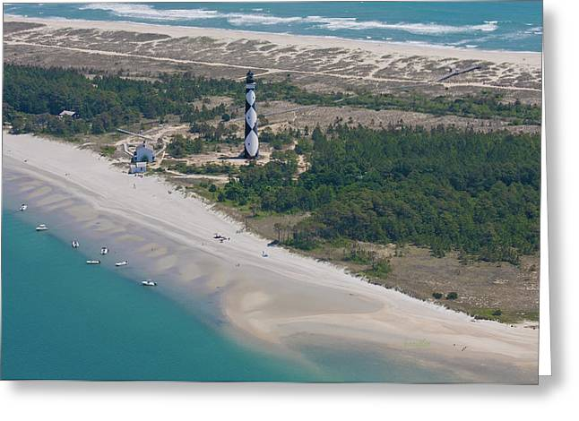 Harkers Greeting Cards - Cape Lookout 6 Greeting Card by Betsy C  Knapp