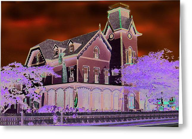 Cape Town Mixed Media Greeting Cards - Cape May 2 Greeting Card by Paul Barlo