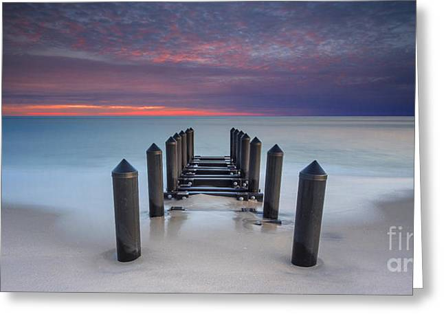 Jersey Shore Greeting Cards - Cape May Beach Greeting Card by Marco Crupi