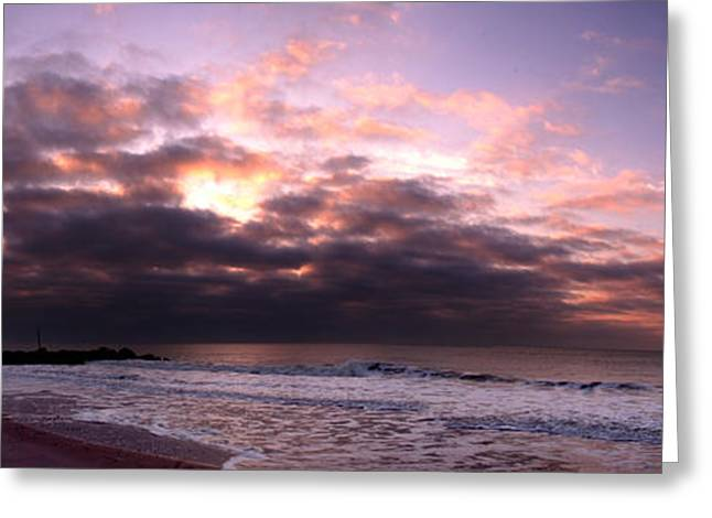 Cape May New Jersey Greeting Card by Kelly Johnson