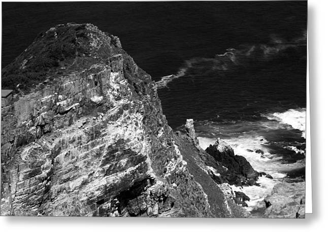 Cape Town Greeting Cards - Cape Point Greeting Card by Aidan Moran