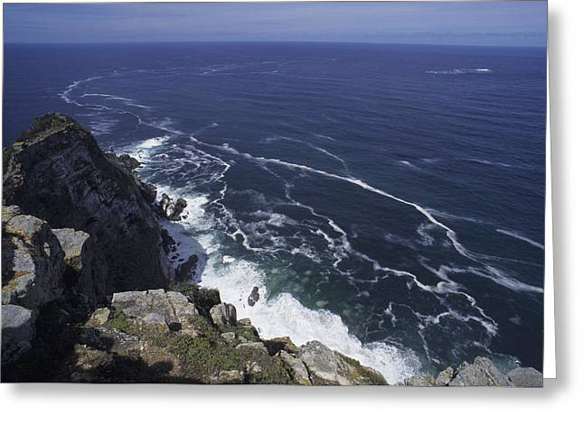 Ocean Vista Greeting Cards - Cape Point, South Africa Greeting Card by Stacy Gold