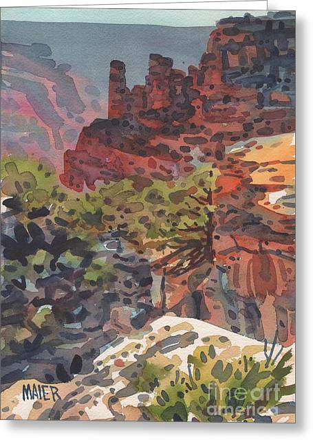 North Rim Greeting Cards - Cape Royal Greeting Card by Donald Maier