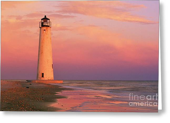 Saint George Greeting Cards - Cape Saint George Lighthouse - FS000117 Greeting Card by Daniel Dempster