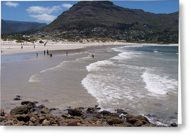 Cape Town Digital Art Greeting Cards - Cape Town Greeting Card by Vijay Sharon Govender