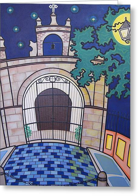 Old San Juan Greeting Cards - Capilla del Cristo Greeting Card by Mary Tere Perez