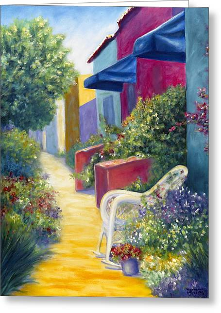 Capitola Greeting Cards - Capitola Dreaming Greeting Card by Shannon Grissom
