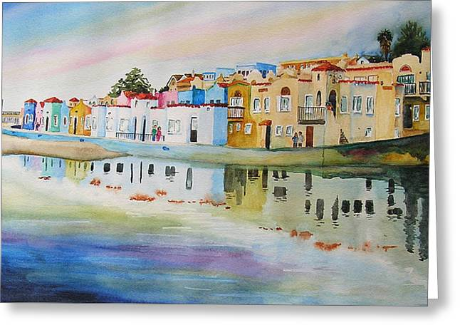 Capitola Greeting Card by Karen Stark