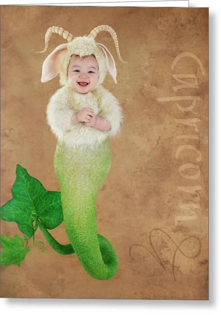 Capricorn Greeting Card by Anne Geddes