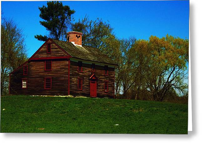 Concord Greeting Cards - Captain John Smith House Greeting Card by John Feiser