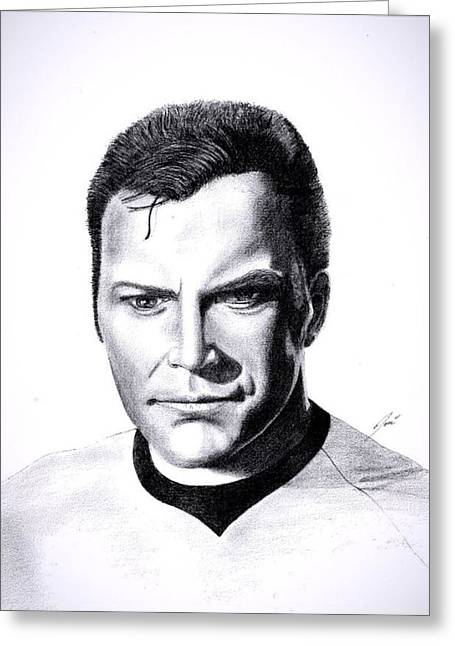 Captain Greeting Card by Jose  Torres