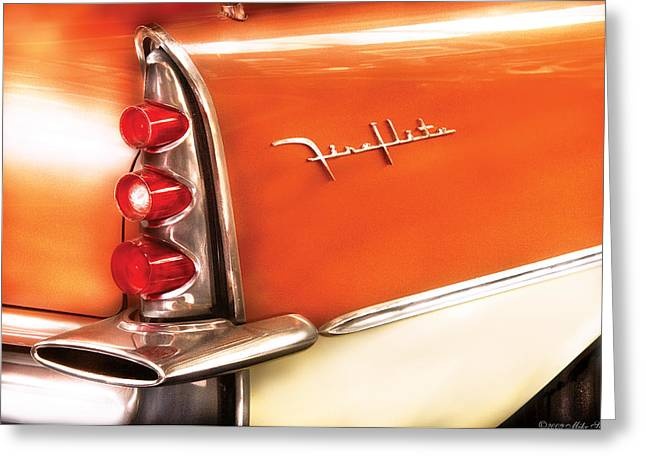 Car - The Wing Greeting Card by Mike Savad