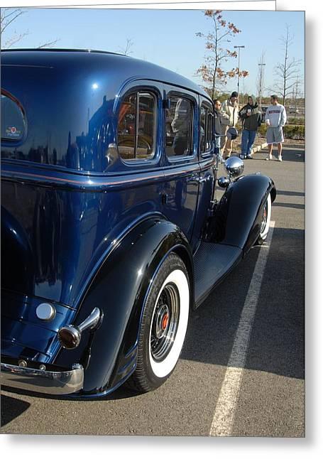 1933 Pontiac Greeting Cards - Car 98 Greeting Card by Joyce StJames