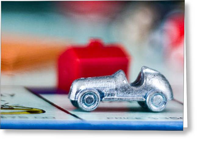 Monopoly Greeting Cards - Car Greeting Card by Jana Rosenkranz