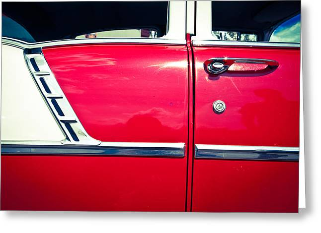 Split Toning Greeting Cards - Car no.6 - Perfect Proportions Greeting Card by Niels Nielsen
